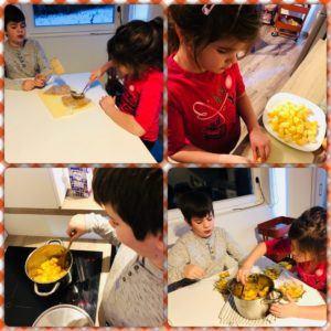 gyors almás süti gyerekkel