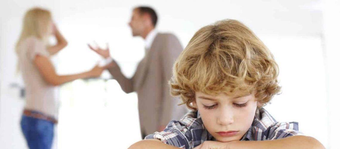 Szülői válás után randi