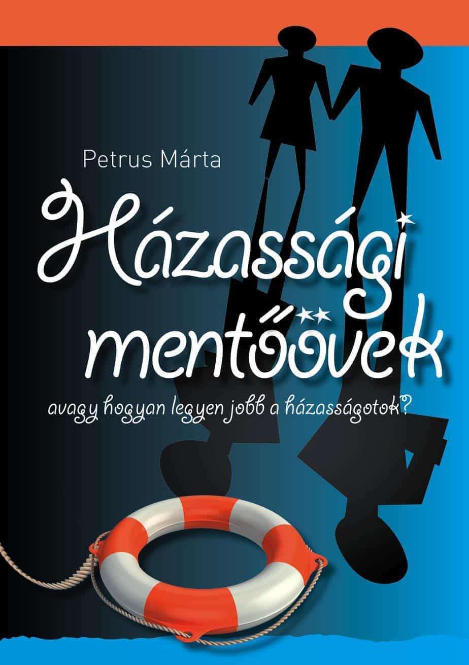 Petrus Márta házassági-mentőövek könyv borító